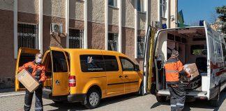 Засоби захисту та обладнання вартістю в понад 400 тисяч передали обласній лікарні прикарпатські газовики