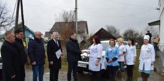 Амбулаторія на Долинщині отримала новий службовий автомобіль