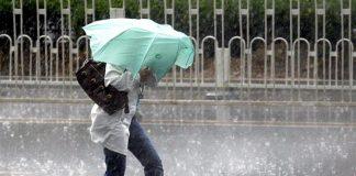 На Прикарпаття суне негода: очікується дощ та сильний вітер