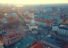 Франківськ під час карантину з висоти пташиного польоту: відео