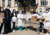 Місцева УГКЦ передала допомогу франківській лікарні №1