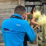 Як відомі ню-фотографи знімали сексуальних дівчат у Карпатах: гаряче відео 18+