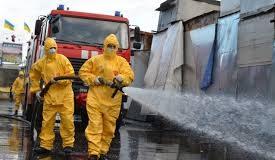 Франківські рятувальники продовжують дезінфекцію житлових будинків та закладів охорони здоров'я