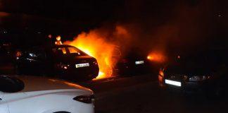 У Франківську трапилося третє займання автомобіля за дві ночі - можливі підпали