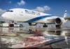 Ізраїль пригнав до Києва найновіший пасажирський лайнер за... яйцями. Фото