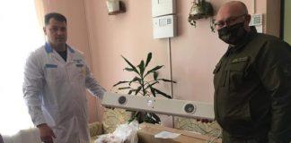 Лісники з Рогатинщини передали медикам свій одноденний заробіток та респіратори