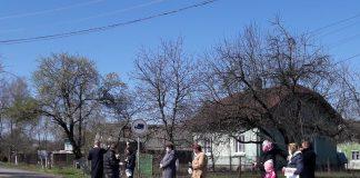 На Долинщині люди освятили кошики біля своїх будинків: фото