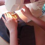 Школярка з Франківщини виграла у Всеукраїнському конкурсі - пошила оригінальні мішечки