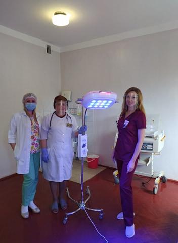 Обласна дитяча лікарня отримала коштовне обладнання для лікування немовлят