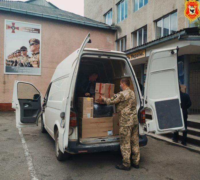 Обласному військомату передали засоби захисту від COVID-19