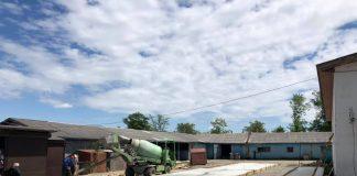 В Богородчанах триває спорудження ринку