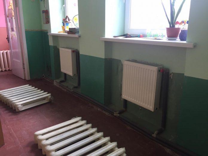 Ще у двох франківських дитсадках модернізують систему опалення