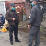 У центрі Франківська нетверезий молодик з кулаками накинувся на пенсіонерку: фотофакт