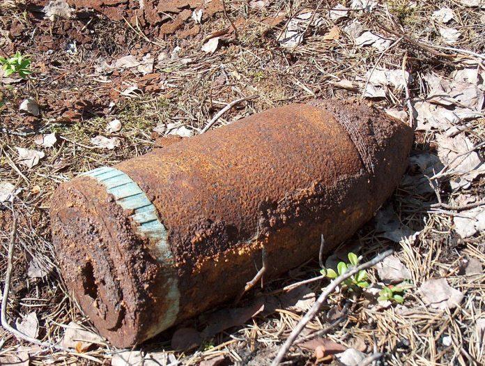 На Франківщині знешкодили 76 мм артснаряд