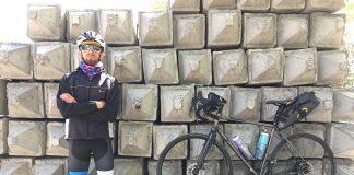 Велосипедист за три дні проїхав 600 кілометрів з Києва до Франківська: фото