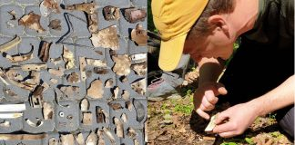 Дослідники виявили у прикарпатському селі місце авіакатастрофи радянського військового літака