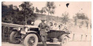 Старі франківські автомобілі в історичних фотографіях