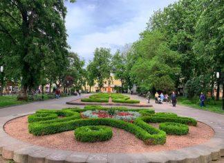 З настанням теплої погоди Івано-Франківськ активно заквітчують: відео