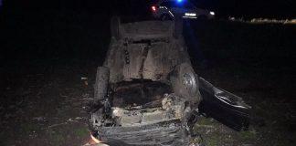 Карколомна ДТП на Прикарпатті: авто на швидкості влетіло у кювет та перекинулось на дах - водій загинув на місці