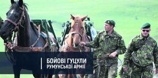 Як бойові гуцульські коні несуть службу в складі румунської армії: фоторепортаж