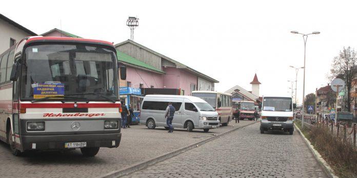На Прикарпатті відновлено рух приміських та міжміських автобусних маршрутів