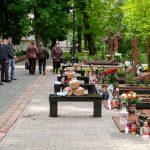У Франківську вшанували пам'ять поліцейських, котрі загинули в авіакатастрофі на Карачуні: фоторепортаж