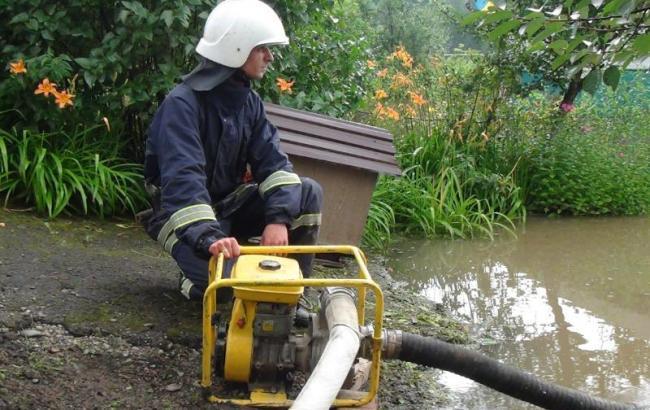 Повалені дерева та підтоплені будинки - прикарпатські надзвичайники ліквідовують наслідки негоди