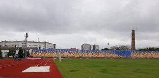 Стадіон ІФНТУНГу облаштовують для проведення міжнародних змагань