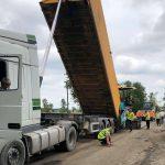 На Прикарпатті триває ремонт дороги Івано-Франківськ - Надвірна
