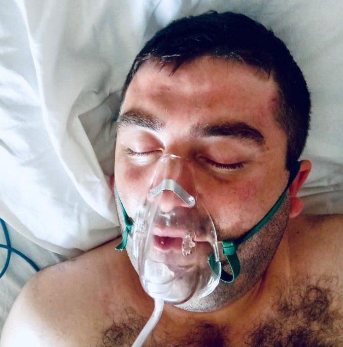 Без свідомості та документів: поліція просить допомогти впізнати чоловіка, якого привезли у франківську лікарню