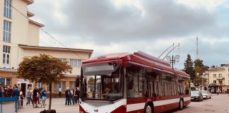 Тролейбусне депо Івано-Франківська оновили б/в тролейбусами