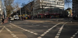 На дорогах Франківська хочуть нанести розмітку