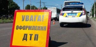 В Івано-Франківську мікроавтобус збив на пішохідному переході жінку