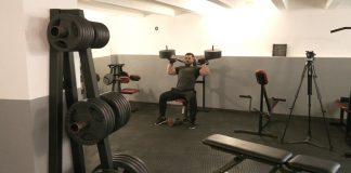 Як на Прикарпатті працює спортзал для ветеранів АТО: відео
