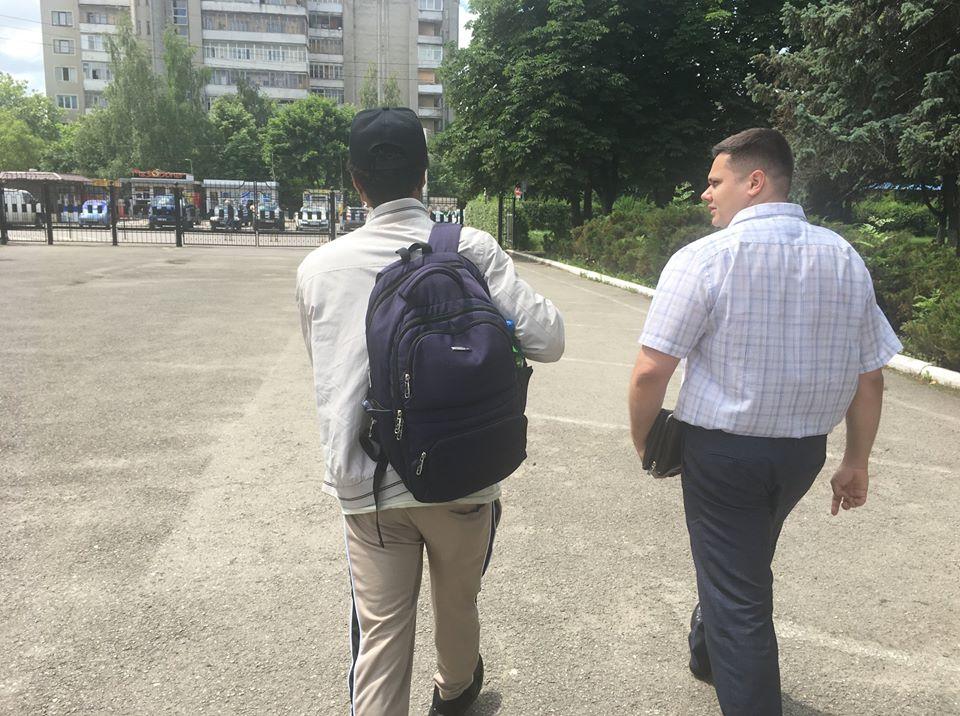 В Івано-Франківську виявили ще одного африканського нелегала: фото