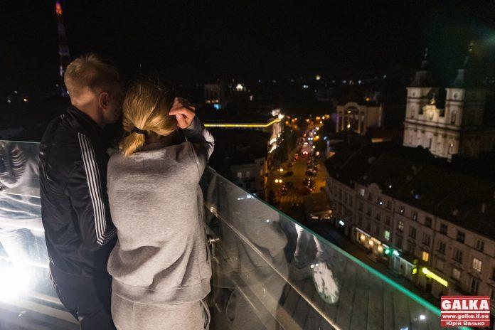 Оглядовий майданчик на Франківській ратуші відновив свою роботу
