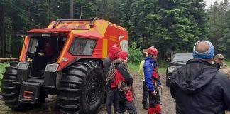 Як прикарпатські надзвичайники рятували туристів із Манявського водоспаду