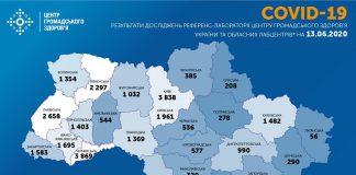 За минулу добу в Україні зафіксували 753 випадки захворювання на COVID-19