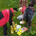 Рятувальники доставили харчі мешканцям прикарпатського села, які сильно постраждали від негоди: фоторепортаж