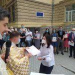 У Франківську капелани та медики провели спільну молитву: фото