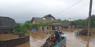 В одному із сіл Галицького району паводок підтопив 15 домогосподарств