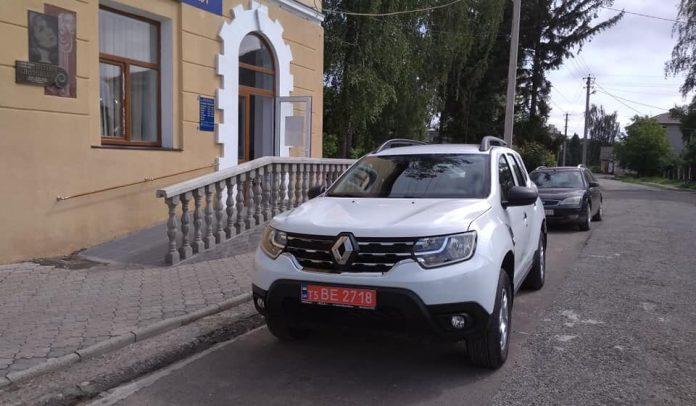 Новий автомобіль отримали медики Більшівцівської ОТГ