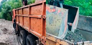 Прикарпатські поліціянти затримали ще одного крадія гравію