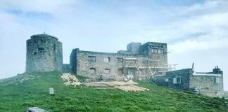 На Попі Івані розпочався ремонт будівлі обсерваторії