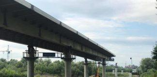 У Франківську триває активна фаза будівництва нового мосту на Пасічну