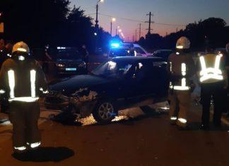 На Прикарпатті п'яний водій вчинив ДТП та втік з місця події