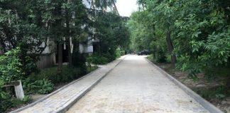 У Франківську на Чорновола завершують облаштування дворів ВІДЕО