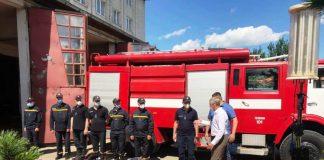 Рятувальники Надвірнянщини отримали технічну допомогу від італійських благодійників ФОТО