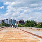 Марцінків показав, як будується новий міст на Пасічну ФОТОРЕПОРТАЖ