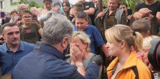 Родина з Надвірнянщини відбудує знищену повінню оселю - будматеріали придбав Фонд Порошенка ФОТО